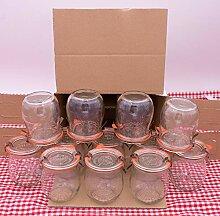 WECK 220 ml Einmachglas Tulpen-Form - verwendbar