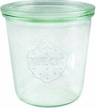 Weck 742 Sturzglas 500 ml (Hochwertiges Einweck,