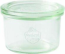 Weck 751 Sturzglas 200 ml (Hochwertiges Einweck,