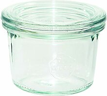 Weck 80 Sturzglas 80 ml (Hochwertiges Einweck,