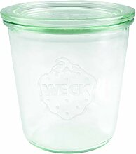 Weck 900 Sturzglas 290 ml (Hochwertiges Einweck,