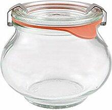 Weck Deco Glas 220 ml, durchsichtig,