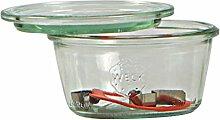 Weck Einmachgläser mit 100 mm Deckel, 370 ml,