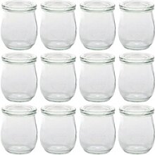Weck Einmachglas 12er Pack Tulpen Gläser