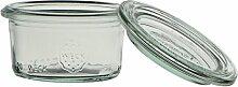 Weck Glas 50ml mit Deckel von 60mm, Dose