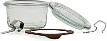 Weck Glas 50ml mit Deckel von 60mm, komplett