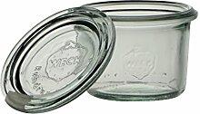 Weck Glas 80ml mit Deckel von 60mm, Dose
