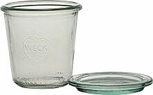 Weck-Glas mit 140 ml Inhalt und Deckel mit 60 mm