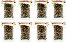 Weck Mini-Form-Glas – kleine Gewürzgläser,