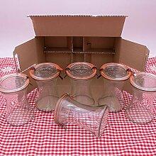 WECK Rundrand-Glas 370 ml Delikatessen-Glas