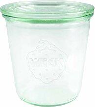 Weck Sturzglas 0,5 L (Hochwertiges Einweck,