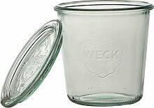 Weck Sturzglas 290ml 6er-Set Deckel, Glas,