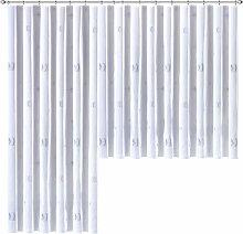 Weckbrodt Gardine nach Maß Lasa 1, H: 125 cm,