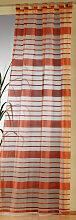Weckbrodt Vorhang Vera, Schlaufen 235 cm,