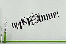 Wecken - Wecker Schlafzimmer Wanddekoration