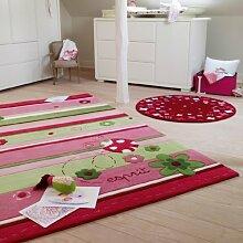 Wecon Esprit - Handtuft Ladybird - rosa - 70 x 140