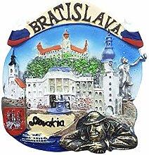 Wedare Bratislava Slowakei 3D Kühlschrankmagnet