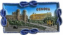 wedaredai Genova 3D Kühlschrank Magnet Souvenir