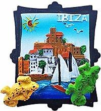 wedaredai Ibiza Spanien Espana Kühlschrank Magnet
