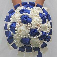 WEDDECOR Blumenstrauß Romantische Hochzeit Bunte