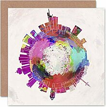 Wee Blue Coo LTD Card Greeting Little World City