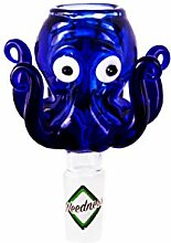 Weedness Bong-Glas-Kopf 14,5 mm Schliff Octopus -