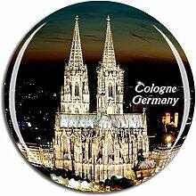 Weekino Deutschland Kölner Dom Kühlschrankmagnet