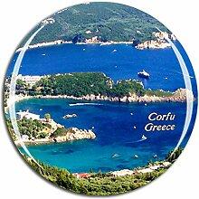 Weekino Griechenland Korfu (2) Kühlschrankmagnet