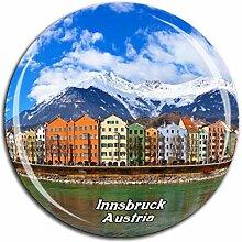 Weekino Innsbruck Österreich Kühlschrankmagnet