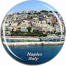 Weekino Italien Neapel Kühlschrankmagnet 3D