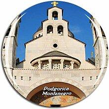 Weekino Kathedrale Podgorica Montenegro