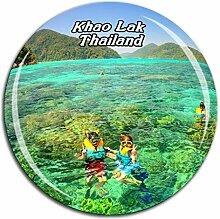 Weekino Khao Lak Thailand Kühlschrankmagnet 3D