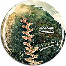 Weekino Kolumbien Medellin Kühlschrankmagnet 3D