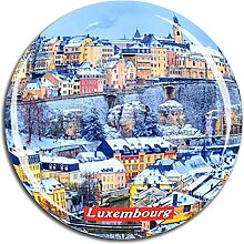 Weekino Luxemburg Kühlschrankmagnet 3D