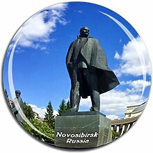 Weekino Nowosibirsk Russland Kühlschrankmagnet 3D