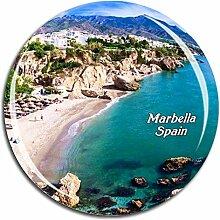 Weekino Spanien Marbella Kühlschrankmagnet 3D