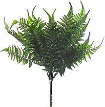 WEFLOWERSFS Künstlicher Boston Fern Busch/Pflanze
