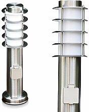 Wegeleuchte Tunes mit Steckdose - kleine Stehlampe