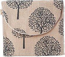 WEIAIXX Baumwolle Leinen Installierten Tante Sanitär Serviette Gesundheit Baumwolltasche Setzen Tante Handtuch Paket Damenbinde Damenbinden Tasche Kiefern-Beige