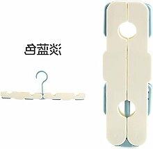 WEIAIXX Dual-Use-Faltung Tragbare Kleiderbügel