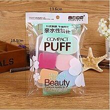 WEIAIXX San Di Yi Produkte 6 Boxed Schwamm Nass Zu