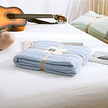 Weich Baumwolle gefütterte Decke Büro Wolldecke