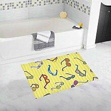 Weiche rutschfeste Badewanne Antirutschmatte