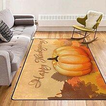 Weiche Shaggy Happy Thanksgiving Teppiche