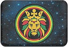 Weichem rutschfestem Rasta Lion Löwe von Juda