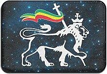 Weichem rutschfestem Rasta Löwe von Juda