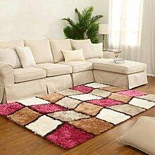 Weichen und bequemen Wohnzimmer Couchtisch Teppich Schlafzimmer Bett rechteckigen Teppich