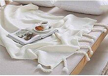 Weicher Baumwolle Überwurf Decke, louisayork Hand
