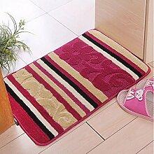 Weiches Haar Kleine Auflage, Teppich, Tür MatsAnti-skid Saugfähige MatsLap Anhänger-Matten ( farbe : C4 , größe : 40*60cm )