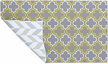Weiches Wendbares Modern Teppich–Damas